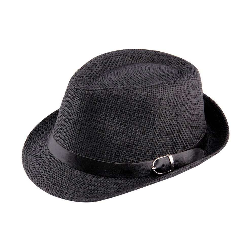 Trendy Unisex Fedora Trilby Gangster Cap For Women Summer Beach Sun Hats Straw Panama Hat Men Fashion Jazz Hats Walmart Canada
