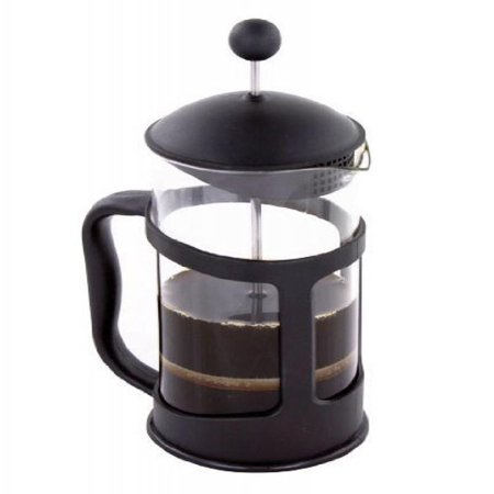 French Press Coffee & Tea Maker with Heat Proof and Stainless Steel Filter, 11