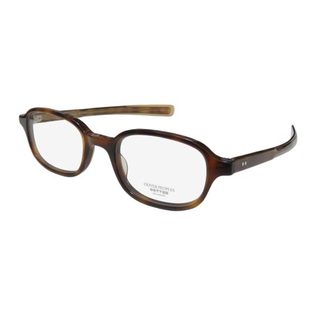 New Oliver Peoples Ramiro Mens/Womens Designer Full-Rim Havana Premium Segment Modern Frame Demo Lenses 47-21-145 Eyeglasses/Eye Glasses ()