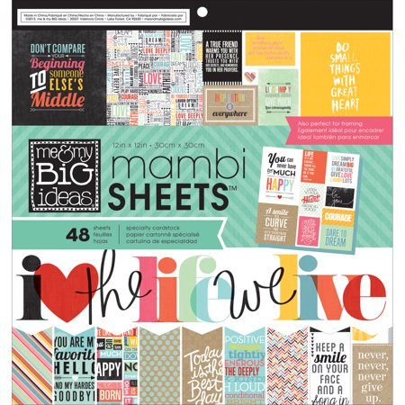 Mambi Paper Pad 12  X 12  48Pk  Quoted