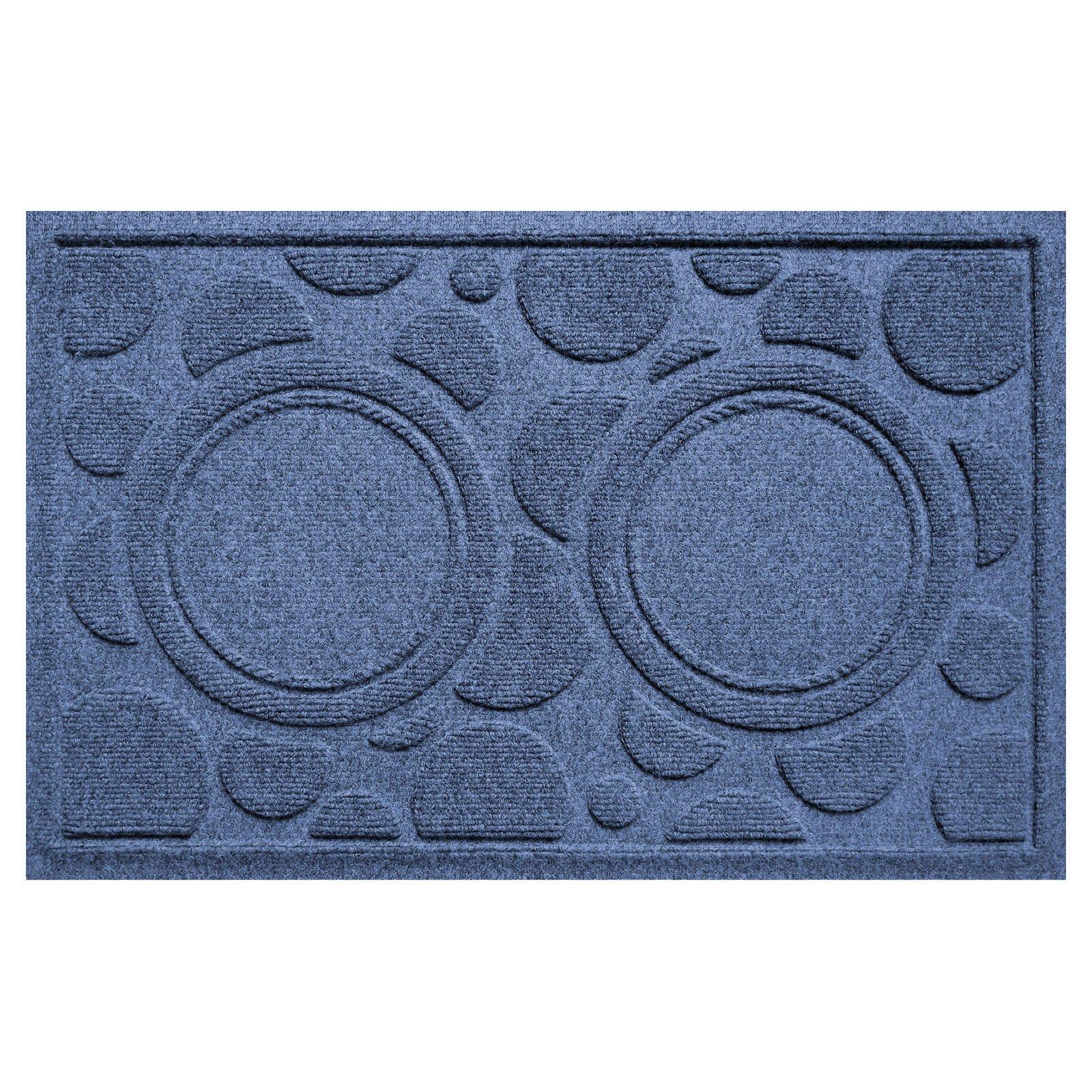 Bungalow Flooring Aqua Shield Dog Bowl Dots Pet Feeder Mat