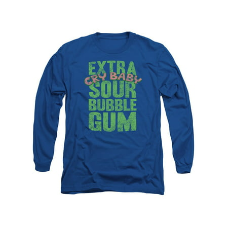 Dubble Bubble Candy Cry Baby Extra Sour Adult Long Sleeve T-Shirt