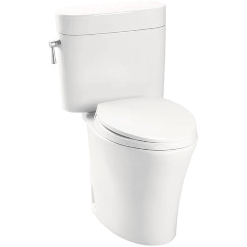 Toto Nexus 1.6 GPF Two Piece Elongated Toilet, Less Seat, Available in Various Colors