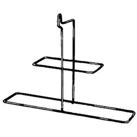 Jim-Buoy 921 Stainless Steel Rectangular Horseshoe Buoy Rack