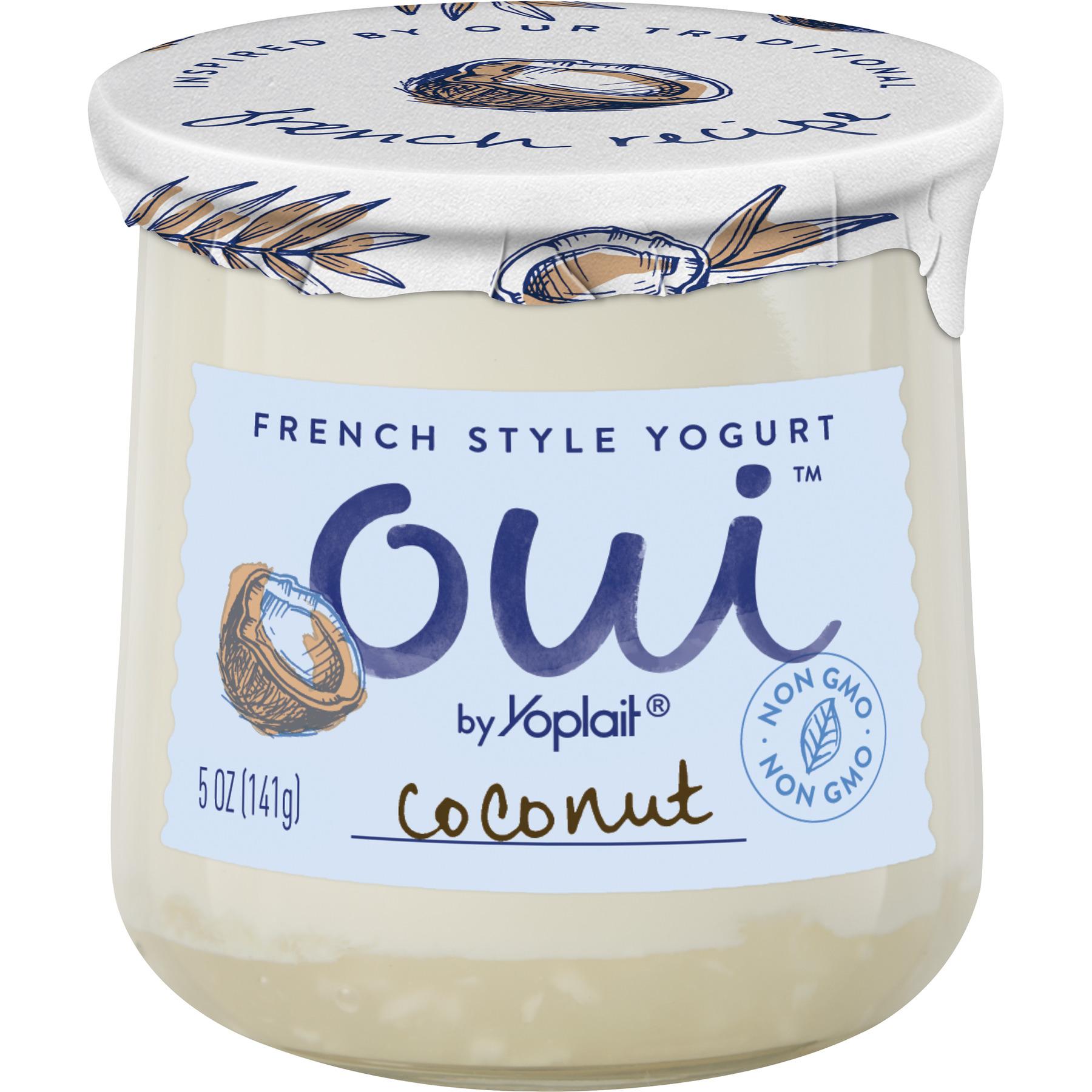 Oui by Yoplait Coconut French Style Yogurt, 5 Oz.
