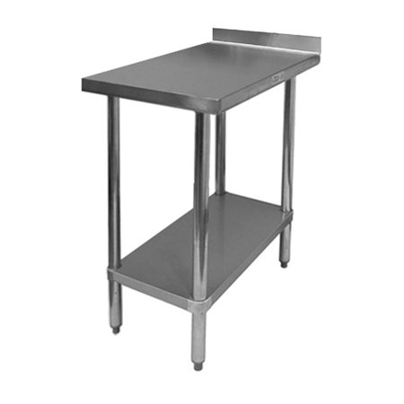 ACE WTPB All Stainless Steel Commercial Work Table With - 4 foot stainless steel table