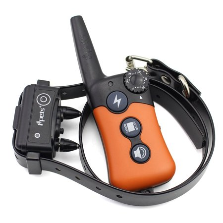 iPets PET619S-1 100% Waterproof & Rechargeable Dog Shock Collar 900 ft Remote Dog Training Collar with Beep Vibrating Electric Shock   Collar for Dogs 10-100lbs