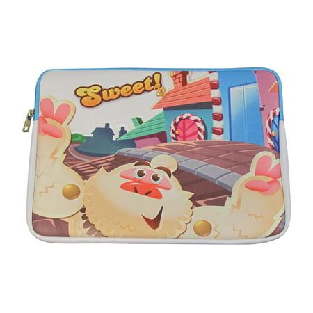 Candy Crush 13-inch Neoprene Laptop Case - Sweet Monster- NEW - FREE (Free Case Monster)