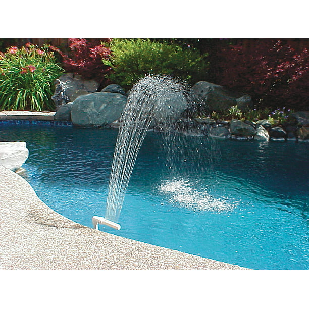 Poolmaster Pool And Spa Waterfall Fountain For In Ground And Above Ground Swimming Pools Walmart Com Walmart Com