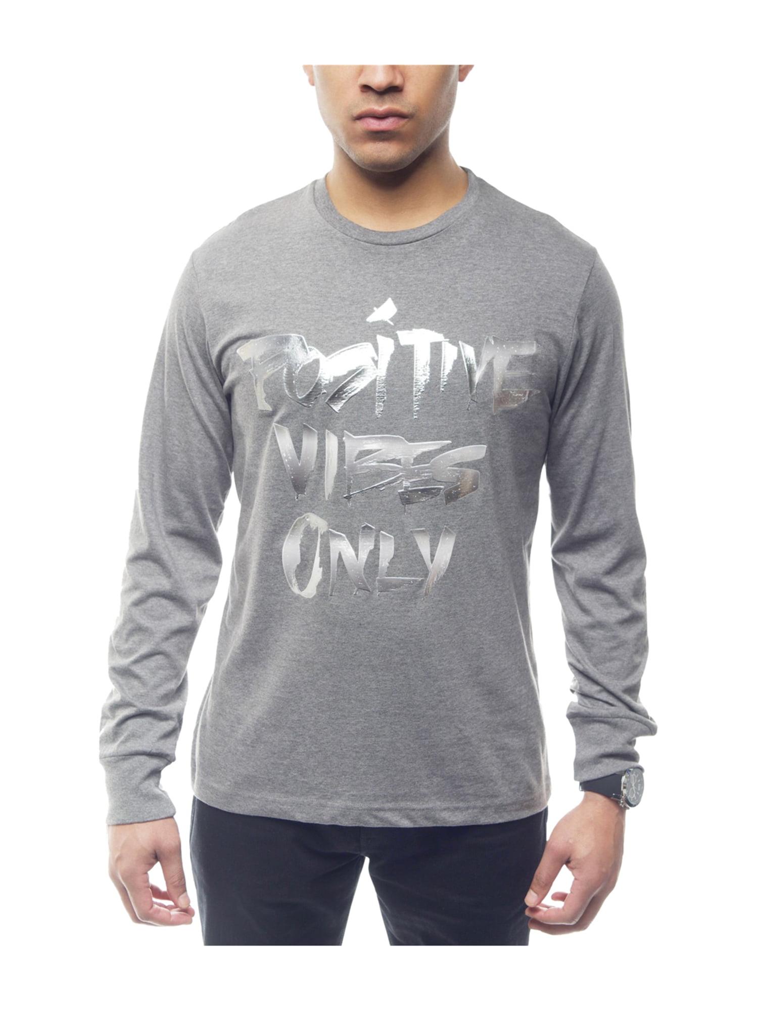 f4598613ab9 Sean John Mens Positive Vibes Graphic T-Shirt medgryhthr 3XL