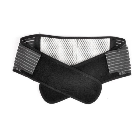 Adjustable Back Brace Belt Pain Massager Back Support Magnetic Therapy Double Pull Strap - S