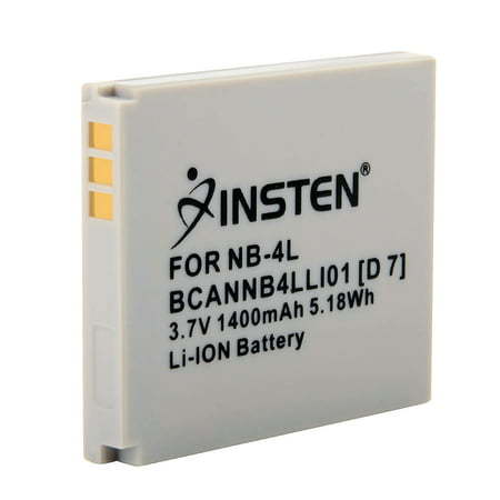 Insten NB4L NB-4L Li-Ion Replacement Battery For Canon Digital IXUS 115 HS / 130 IS / 220 HS / 230 HS / 30 / 40 / 50 / 55 / 60 / 65 / 70 / 75 / 80 IS / i Zoom / i7 IXY Digital 400F / 55 / 80 / L3 / L4](60 70 80 Costume Ideas)
