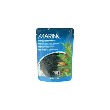 Marina Decorative Gravel, 1 lb, Black