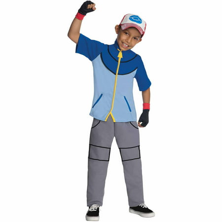 Pokemon Ash Child Halloween Costume - Ash Pokemon Trainer Costume