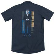 Mentalist Patrick Jane (Back Print) Mens Work Shirt