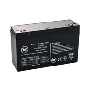 B&B BP12-6 6V 12Ah UPS Battery - This is an AJC Brand Replacement