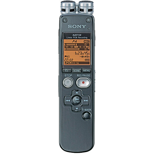 sony icd px232 2gb dictaphone review