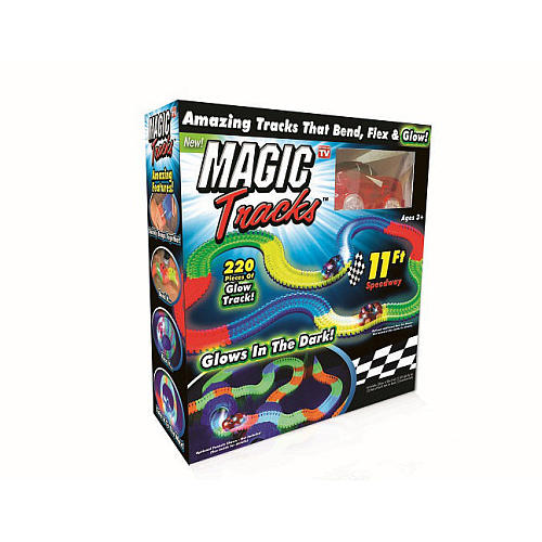 As Seen On Tv Magic Tracks-bend Flex & Glow Racetrack
