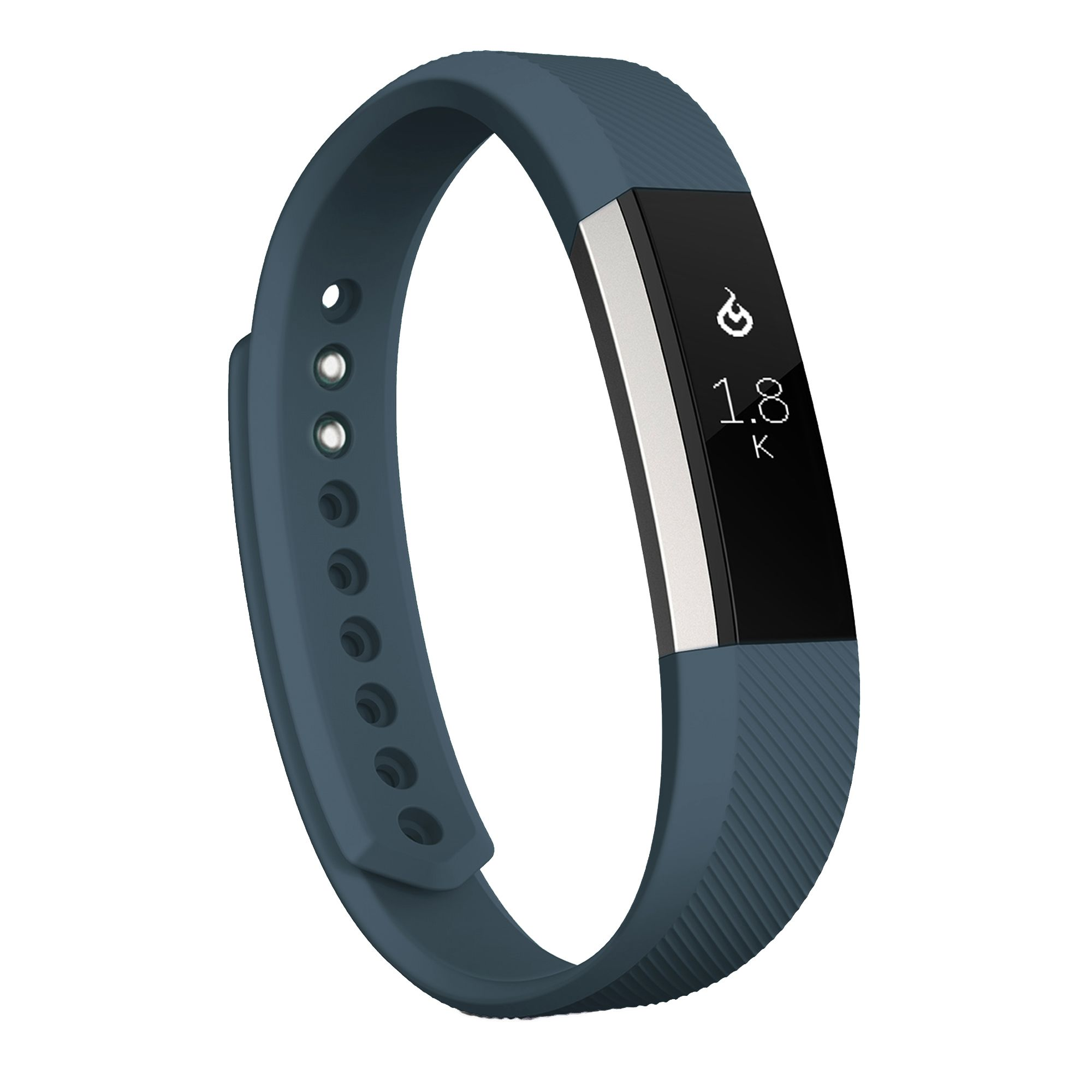 Zodaca Fitbit Alta - TPU Rubber Wristband Replacement Sports Watch Wrist Band Strap w/ Clasp