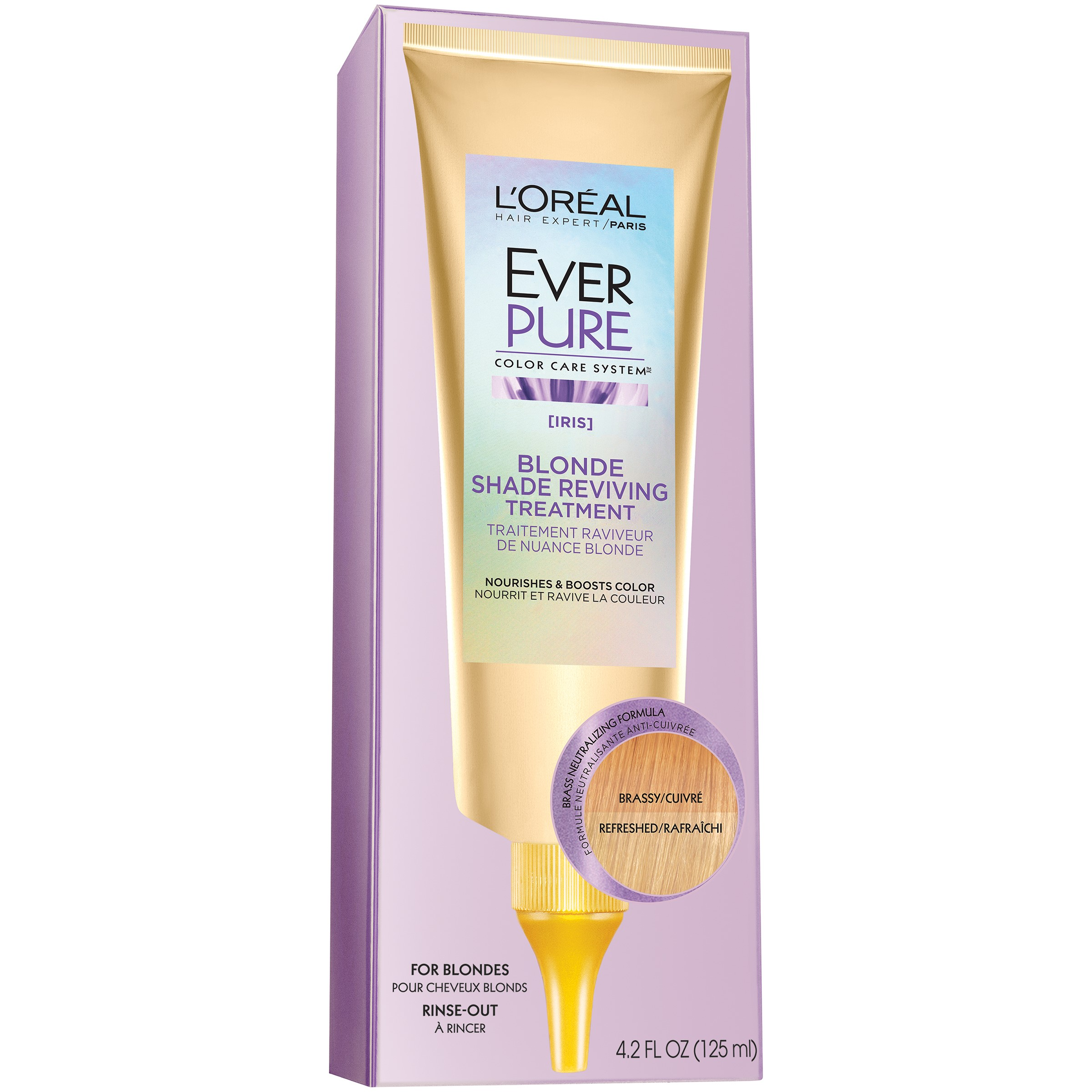 L'Oreal Paris EverPure Blonde Shade Reviving Treatment, 4.2 Fl Oz