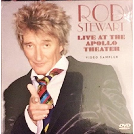 Rod Stewart Live At The Apollo Theater Video Sampler