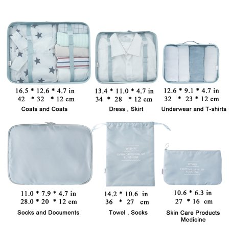 Smaritllc - Travel Packing Cubes 6a655fc086759