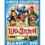 Lilo & Stitch / Lilo & Stitch 2: Stitch Has A Glitch (Blu-ray   DVD) (Widescreen)