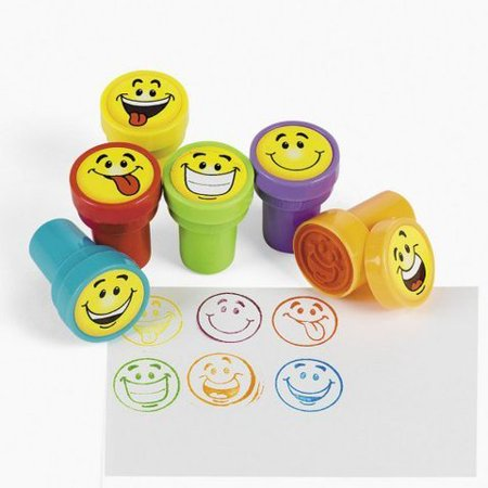 Game / Play 24 pc Goofy Smile Silly Face Stamps [Toy]. Art, Decoration. Logo, Shapes, Smiley, Alphabets, Marker Toy / Child / (Best Games On Steam 2019)