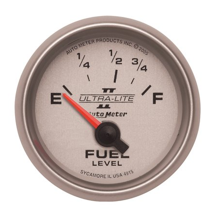 AutoMeter 4915 Ultra-Lite II Electric Fuel Level Gauge