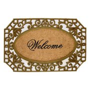 First Impression Molded Welcome Door Mat
