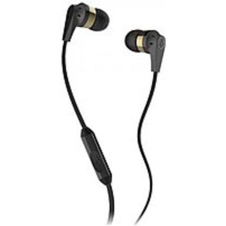 Skullcandy Inkd 2 0 Earbud Headphones  Gold And Gold    S2ikdy 144   New