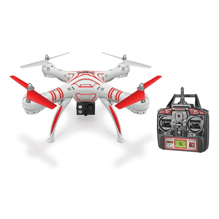 Wraith Spy Drone 1080p HD Video Camera 2.4GHz 4.5CH RC Quadcopter