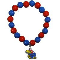 Kansas Fan Bead Bracelet (F)