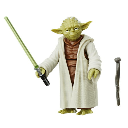 Star Wars Galaxy of Adventures Yoda Figure and Mini