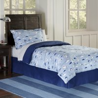airplanes cotton percale comforter set