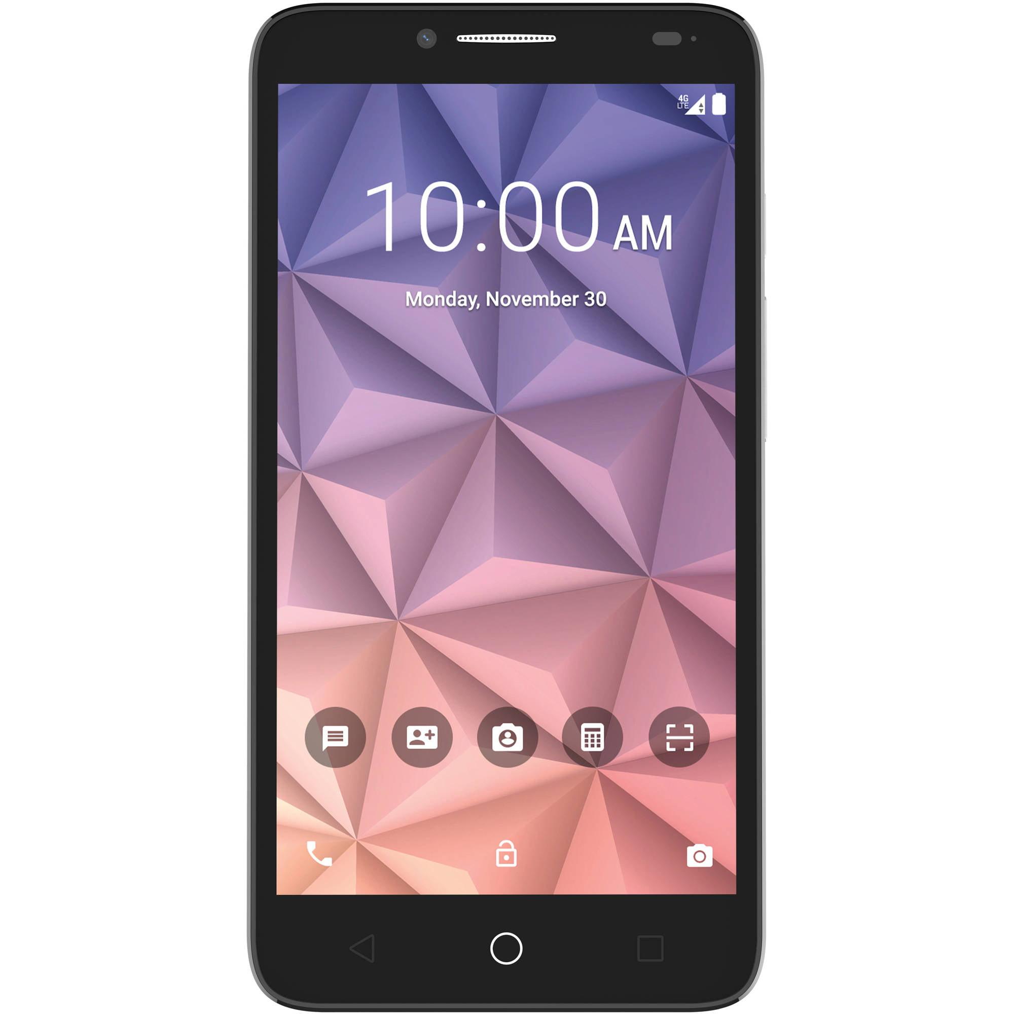 T-Mobile ALCATEL ONETOUCH Fierce XL Prepaid Smartphone