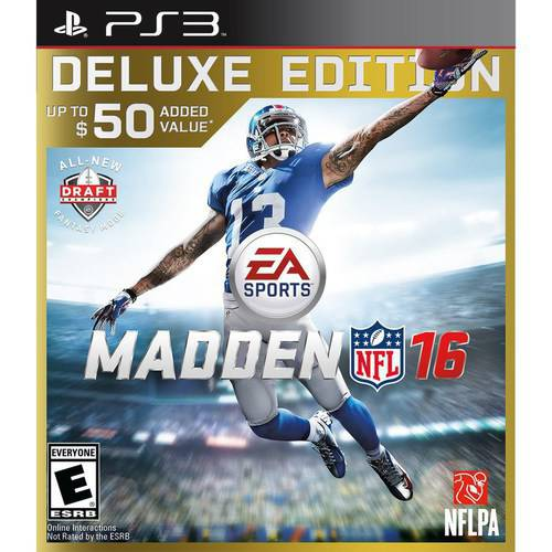 Refurbished EA SportS,  Madden NFL 16 Deluxe Edition (PlayStation 3)