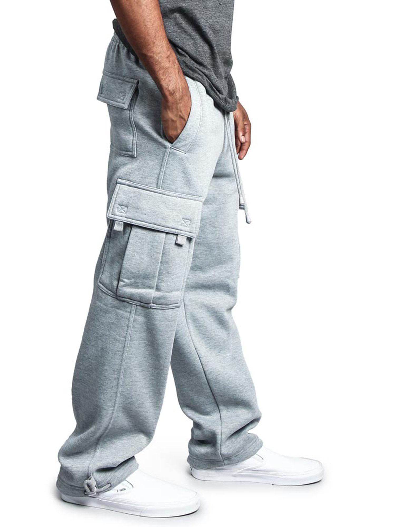 FS76 G-Style USA Men/'s Heavy Weight Fleece Cargo Pocket Sweat Short Pants S~6XL