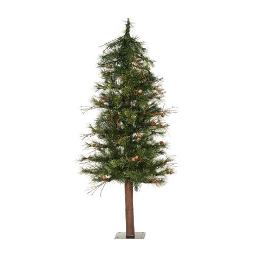 5' Artificial Mixed Country Pine Alpine Christmas Tree - Unlit