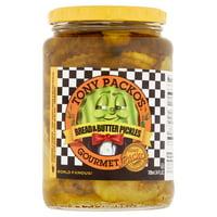 (2 Pack) Tony Packo's Gourmet Bread & Butter Pickles, 24 fl oz