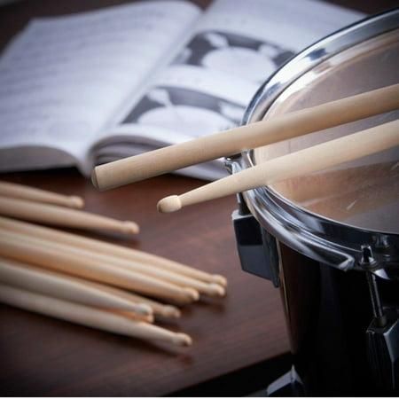 High Quality Drum Stick 5A Drumstick Natural Maple Wood Premium School Children Kid Party Training - Bulk Drum Sticks