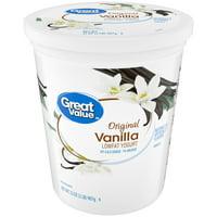Great Value Lowfat Vanilla Yogurt, 32 oz