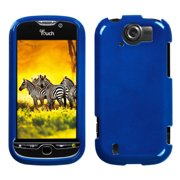 Solid Dark Blue Phone Protector Cover For Htc Mytouch 4g Slide
