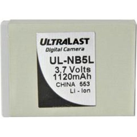 Ultralast UL-NB5L Ultralast Canon NB-5L Equivalent Digital Camera Battery - image 1 of 1