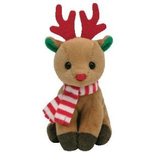 TY Holiday Baby Beanie - FREEZER the Reindeer - image 1 of 1