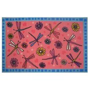 Fun Rugs Dragonflies Kids Rugs