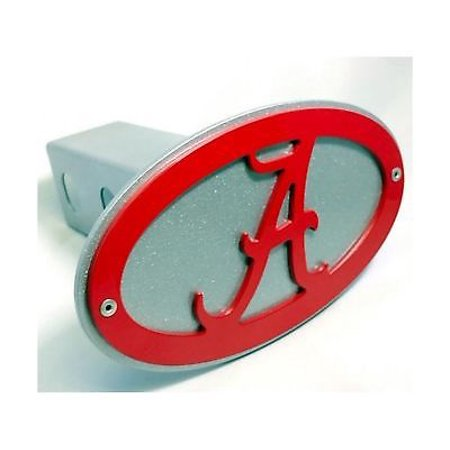 University of Alabama Roll Tide Trailer Hitch Cover Licensed Crimson Football (Roll Tide Football)