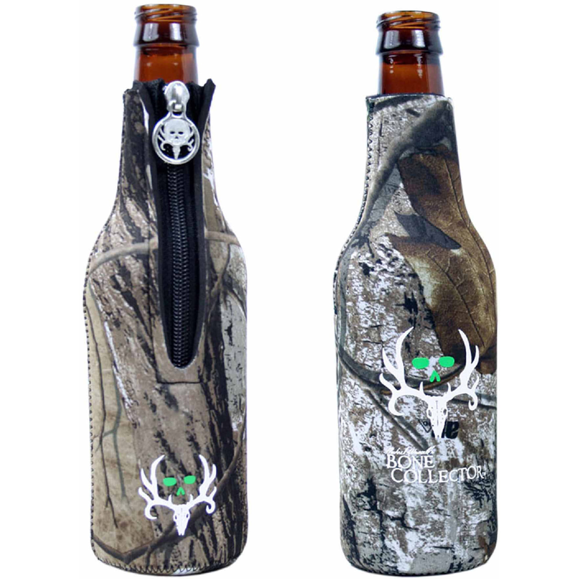 Bone Collector Bottle Coozie, Camo by ABSOLUTE EYEWEAR SOLUTIONS LLC