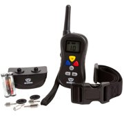 Lobo Commander 301TC Wireless Dog Training Collar-Easy to Use Remote Has Shock, Vibration & Tone-Best E Collar for Obedience & Manual Bark Control! FREE Pet Tag & LIFETIME MANUFACTURERS WARRANTY!