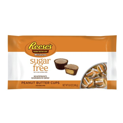 Reese's Miniatures Sugar-Free Peanut Butter Cups, 8.8 oz